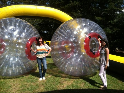 Human Hamster Balls
